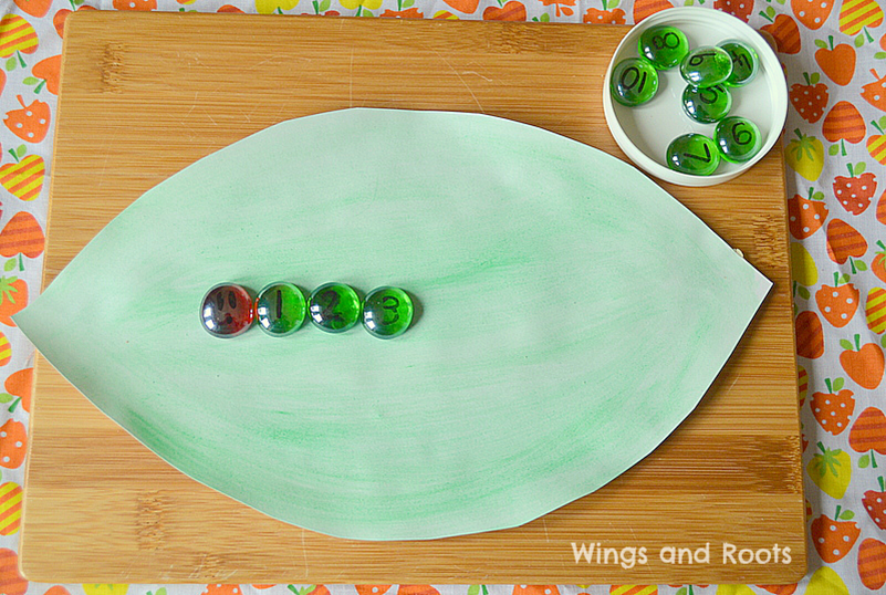 Hungry Caterpillar Maths Game 1