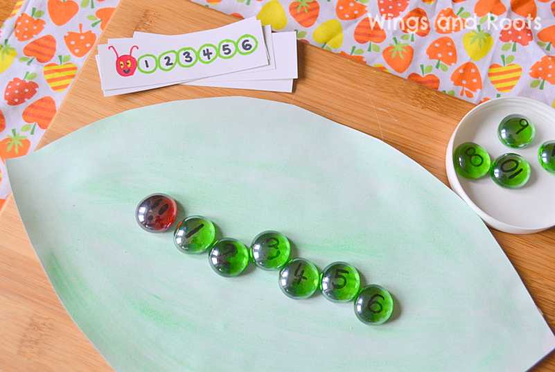 Hungry Caterpillar Maths Game 3