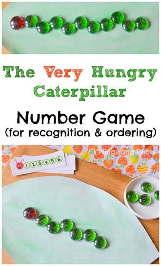 Hungry Caterpillar Maths Game